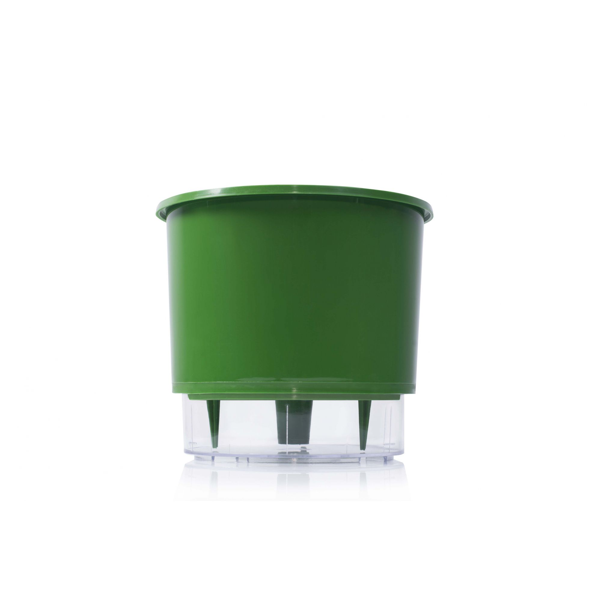 Vaso Autoirrigável 2 Verde Escuro Raiz