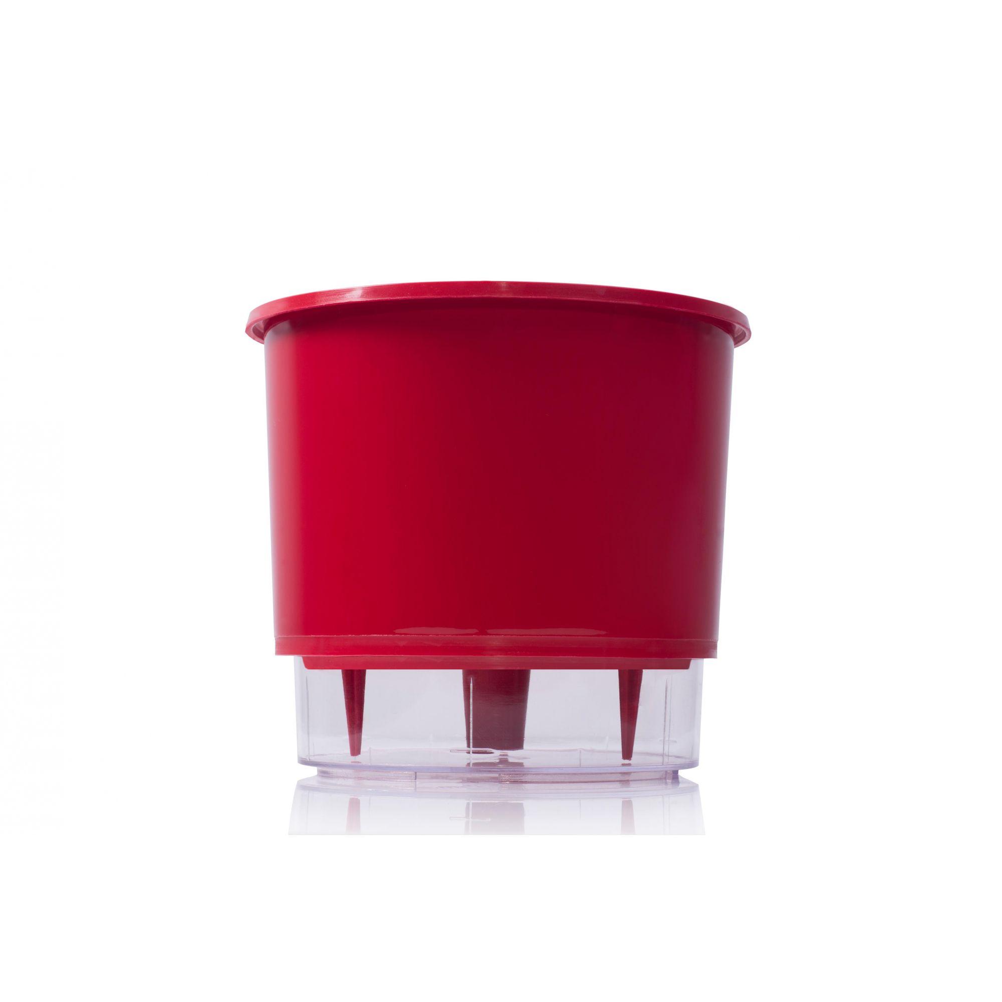 Vaso Autoirrigável 3 Vermelho Raiz