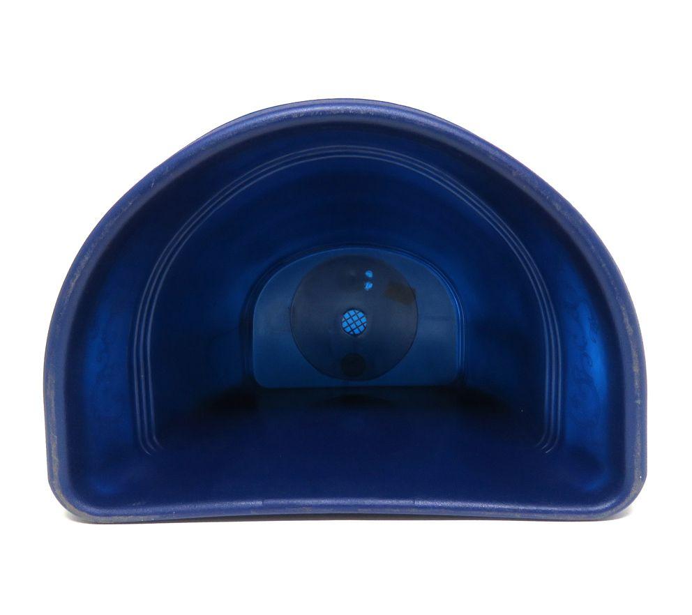 Vaso Plástico para Parede Vicenza Azul Médio 23cm - DL
