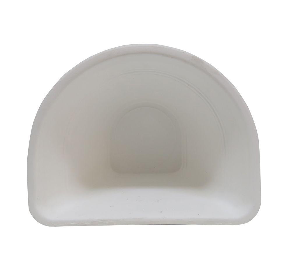 Vaso Plástico de Parede Vicenza Pequeno Branco Pequeno 15 - DL