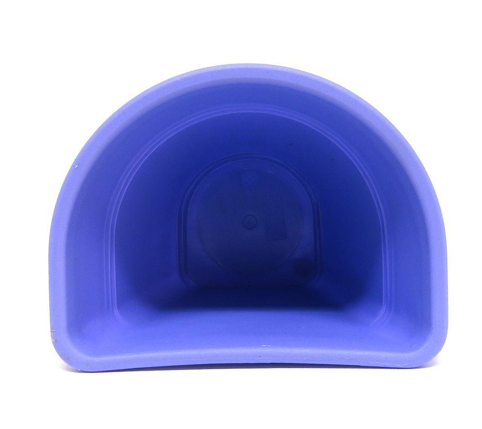Vaso Plástico para Parede Vicenza Lilás Pequeno 15cm - DL