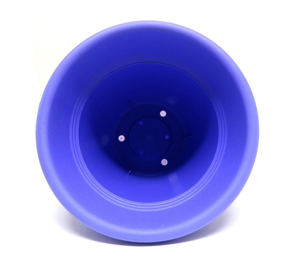 Vaso Plástico Vicenza Lilas Médio 19cm - DL