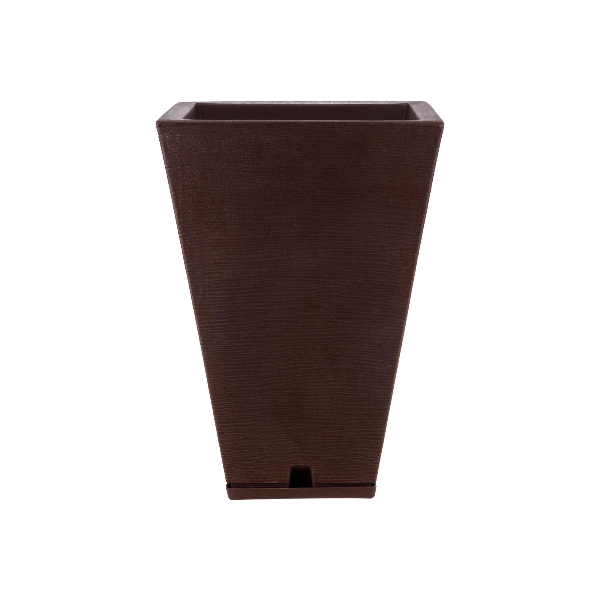 Vaso Zurique Grafiato Marron Stone - 32cm x 55cm