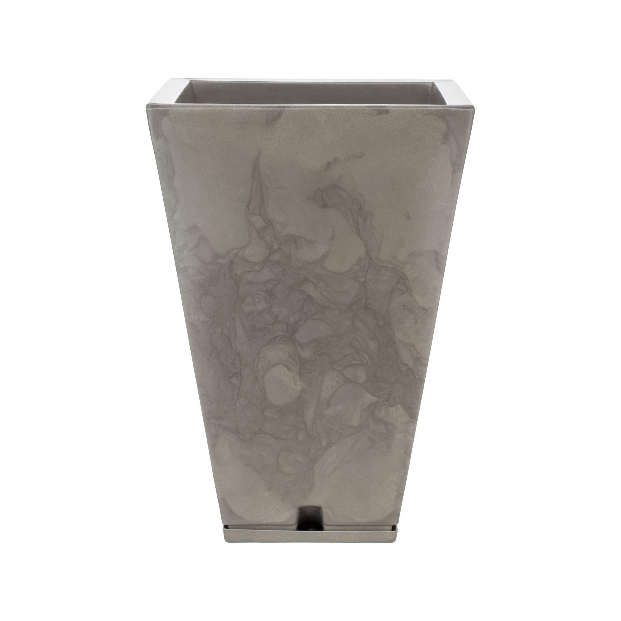Vaso Zurique Marmorato Bege - 32cm x 55cm
