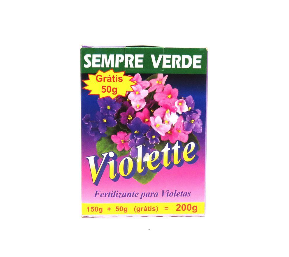 Violette - Fertilizante para Violetas 150gr - ULTRA VERDE