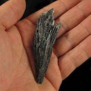 Cianita Preta Pedra Natural Bruta - Vassoura de Bruxa