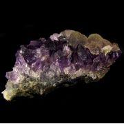 Drusa de Ametista Pedra Natural - Frete Grátis - 4877