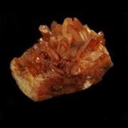 Drusa Quartzo Tangerina Pedra Natural Bruta  - 5809