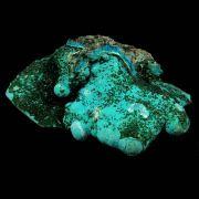 Malaquita com Crisocola Pedra Natural Bruta