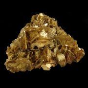 Mica Estrela Amarela Pedra Natural - Frete Grátis - 4867