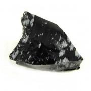 Obsidiana Floco de Neve Pedra Natural Bruta - 6161