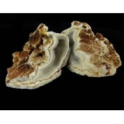 Par de Geodos Pedra Natural Bruta