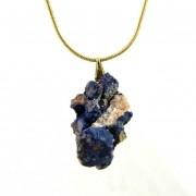 Pingente de Azurita Pedra Natural - 5863