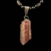 Pingente de Kunzita Bruta Pedra Natural - 6723