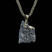Pingente de Quartzo Azul Pedra Natural - 6717