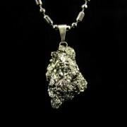 Pingente Pirita Pedra Natural - 5235