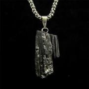 Pingente Turmalina Negra Pedra Natural - 5317