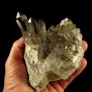 Quartzo Fumê Drusa Cristal Pedra Natural - 5667