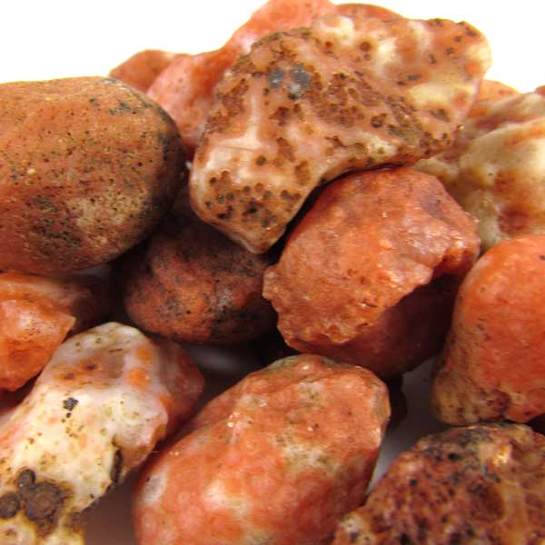 Ágata de Fogo Pedra Natural Bruta - 6183