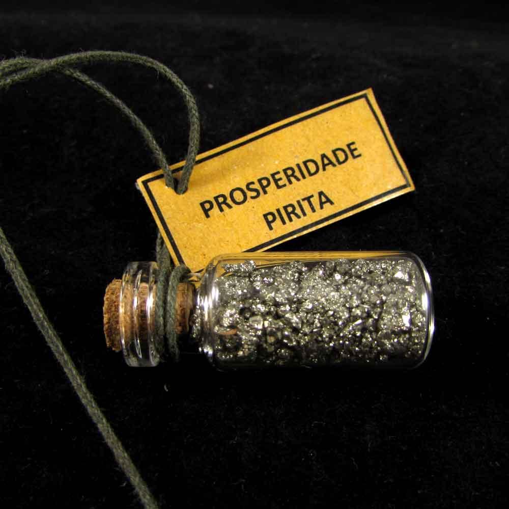 Amuleto para Carro de Pirita Pedra Natural