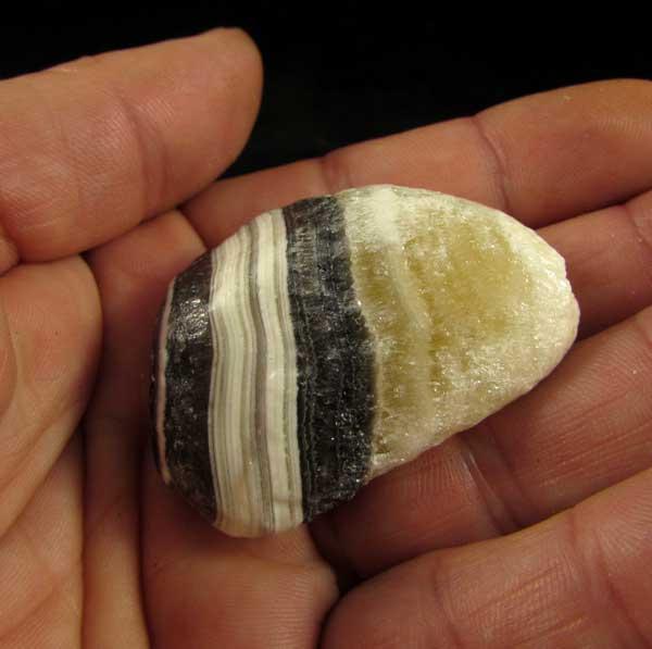 Aragonita Zebra Rolada Pedra Natural - 6961