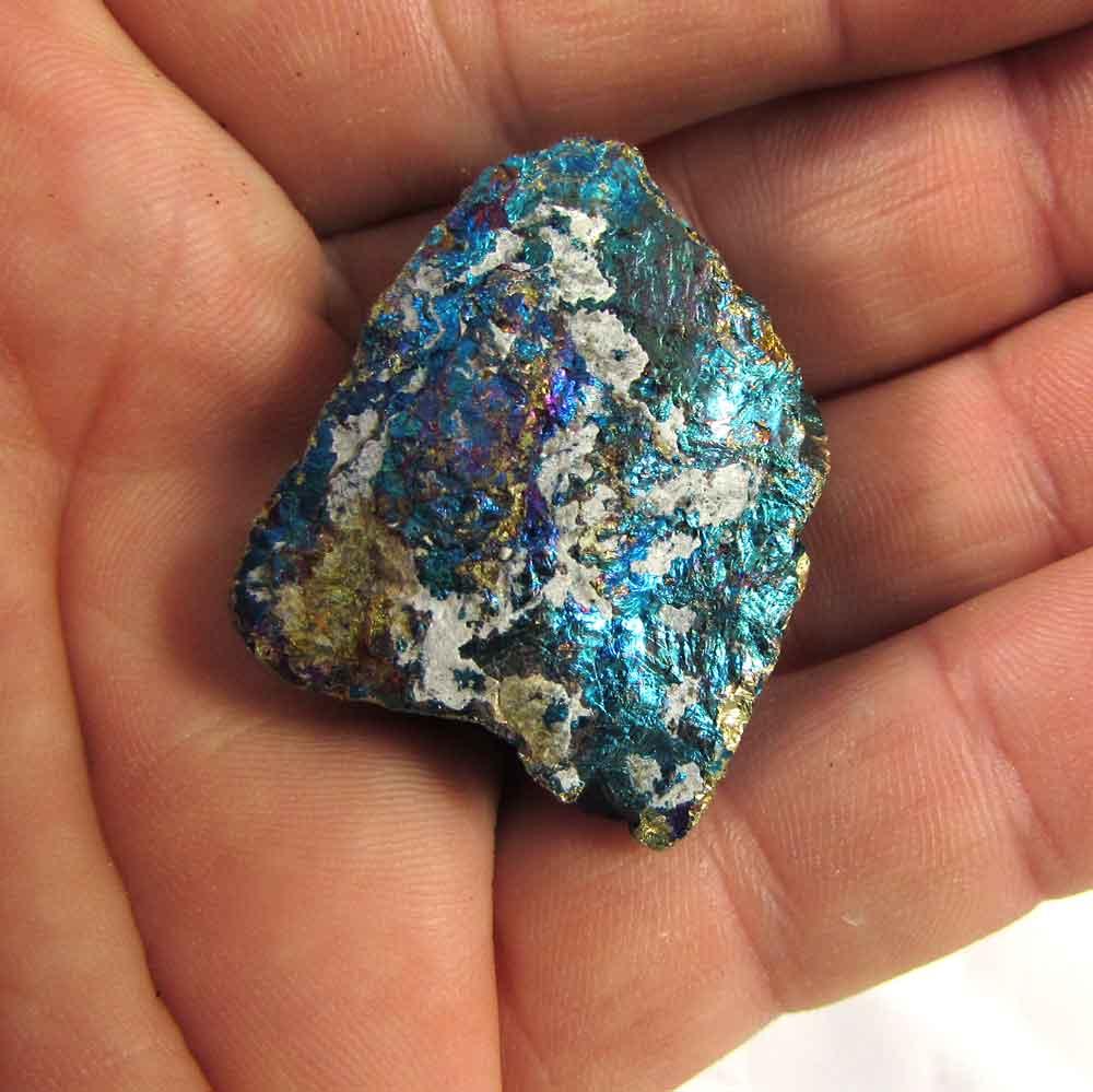 Bornita Pedra Natural Bruta - Pedra do Unicórnio - 4573