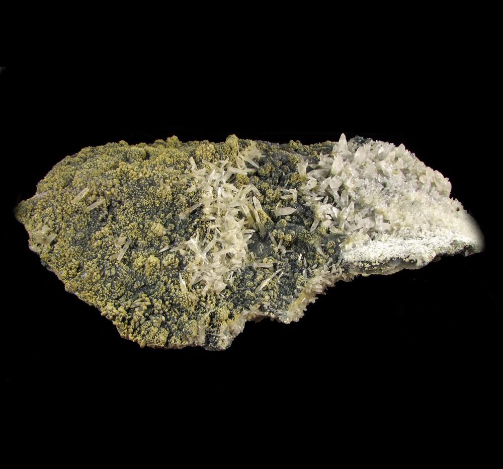 Calcedônia com Cristal Pedra Natural Bruta - Frete Grátis - 4995