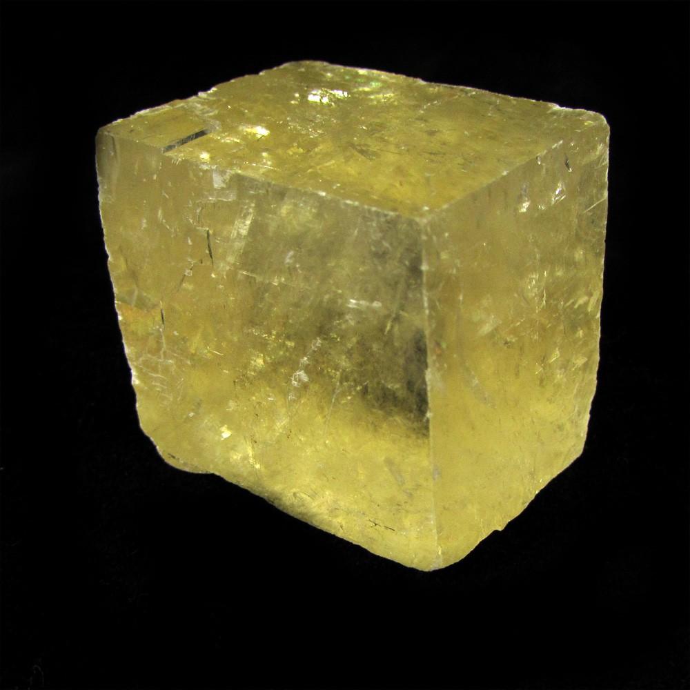 Calcita Óptica Amarela Pedra Natural Bruta - 4999