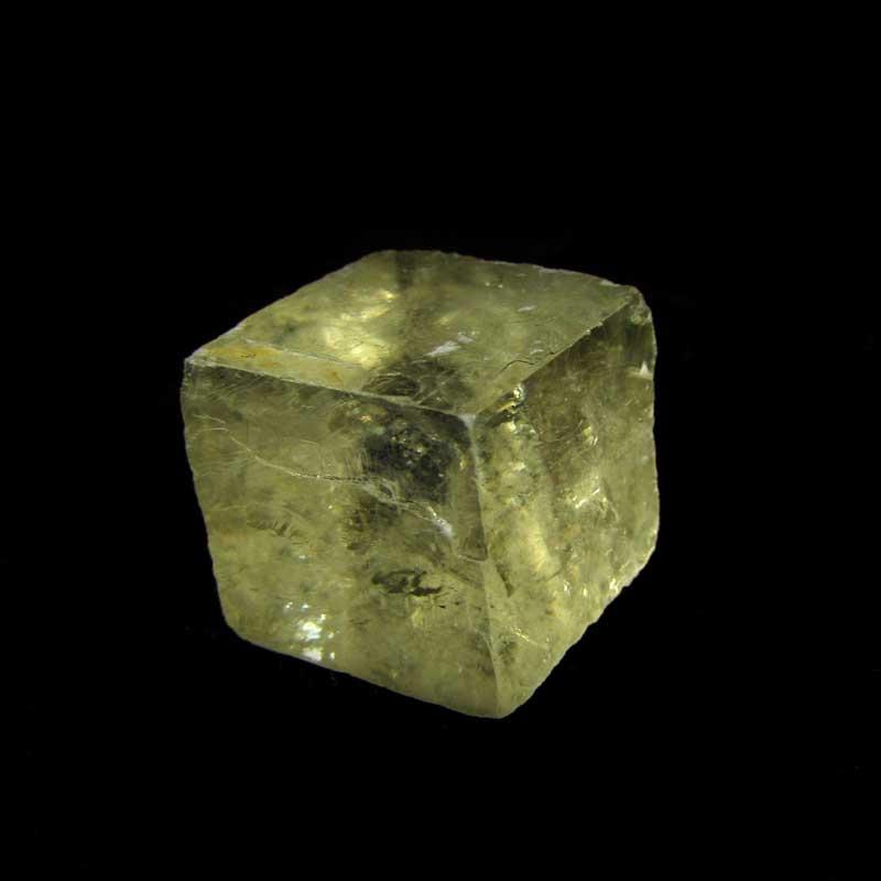 Calcita Óptica Amarela Pedra Natural Bruta - 7045