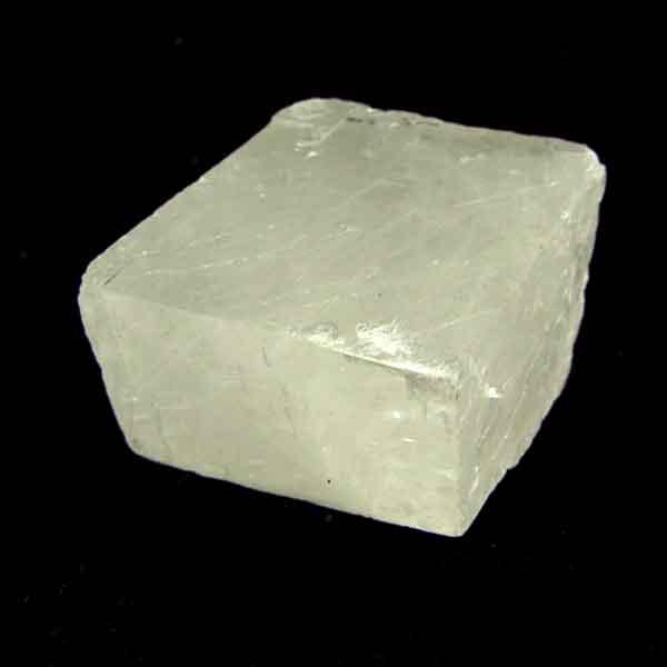 Calcita Óptica Leitosa Pedra Natural Bruta - 6585
