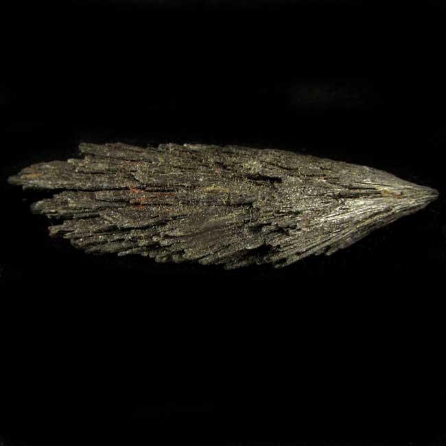 Cianita Preta Pedra Natural Bruta - Vassoura de Bruxa - 5743