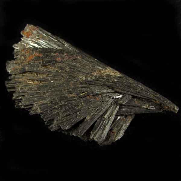Cianita Preta Pedra Natural Bruta - Vassoura de Bruxa - 6521