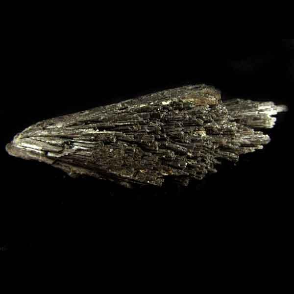 Cianita Preta Pedra Natural Bruta - Vassoura de Bruxa - 6529