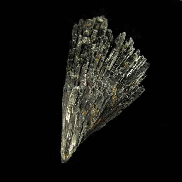 Cianita Preta Pedra Natural Bruta - Vassoura de Bruxa - 6547