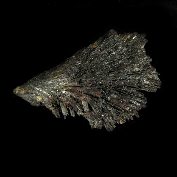 Cianita Preta Pedra Natural Bruta - Vassoura de Bruxa - 7139