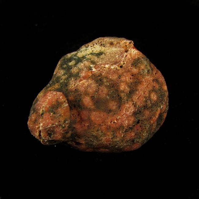 Ágata de Fogo Pedra Natural Bruta - 5713