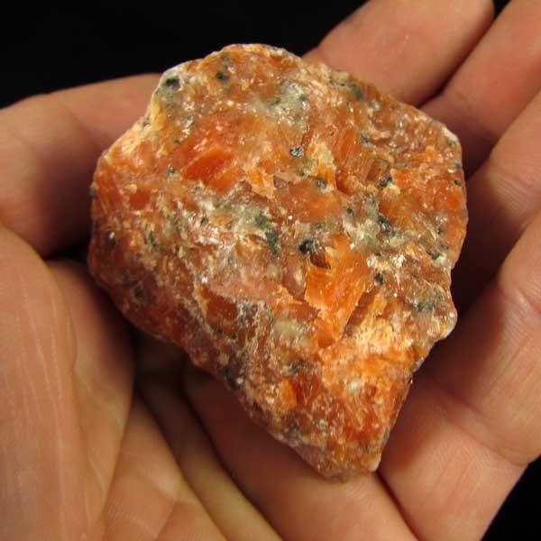 Calcita Laranja Pedra Natural Bruta - 6221