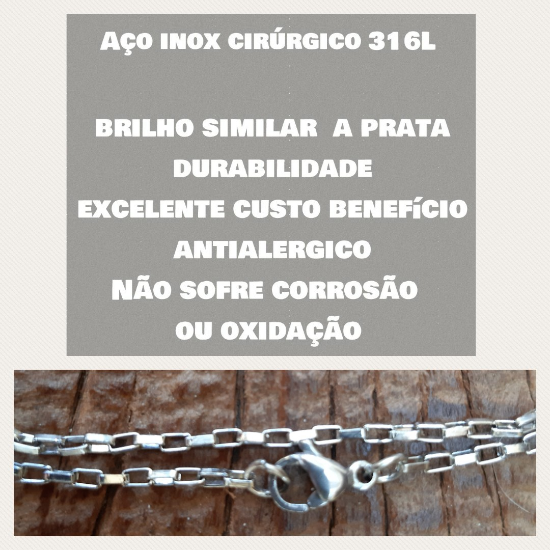 Corrente Aço Inox Cirúrgico - A51