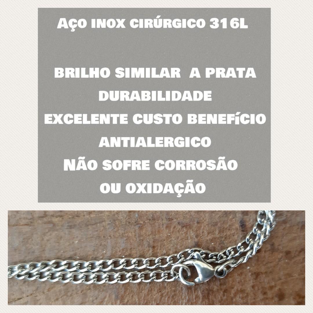 Corrente Aço Inox Cirúrgico - A52