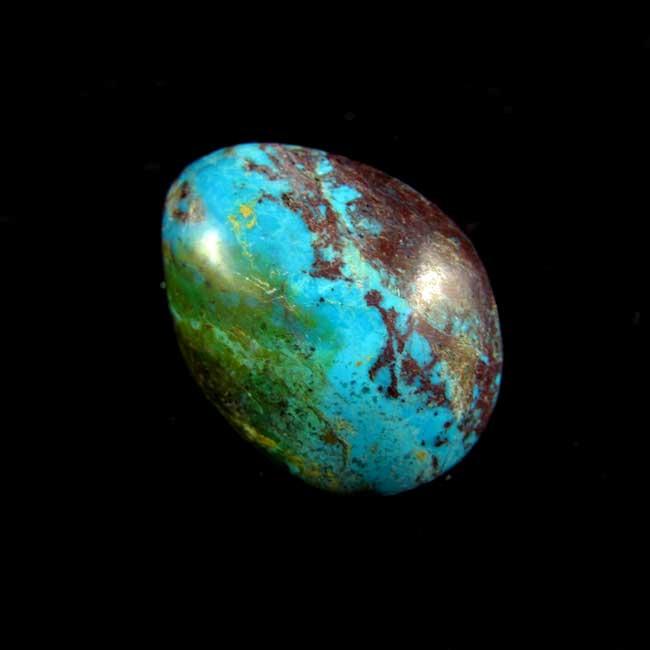 Crisocola Pedra Natural Rolada - 5943