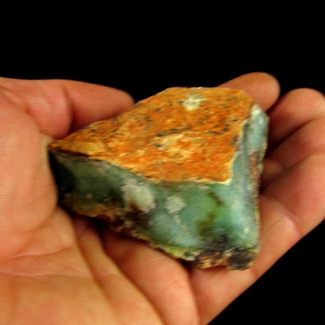 Crisoprásio Pedra Natural Bruta - 5827