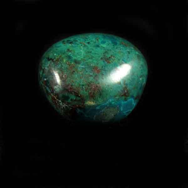 Crisocola Pedra Natural Rolada - 6927