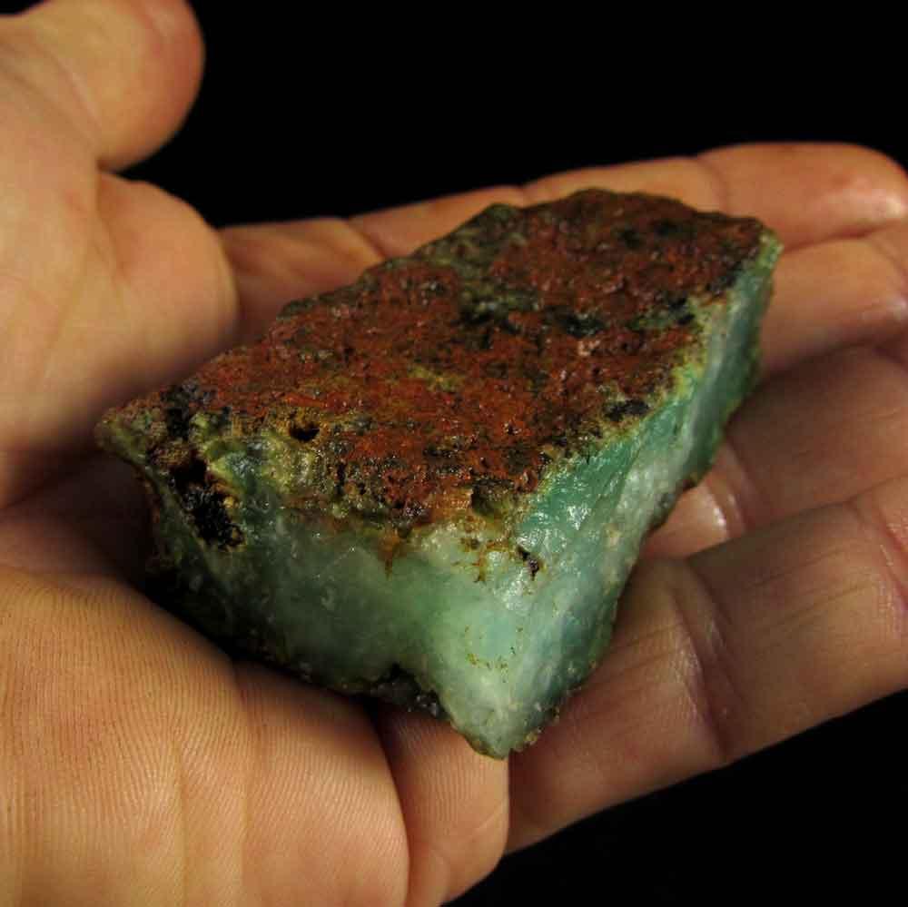 Crisoprásio Pedra Natural Bruta - 2903
