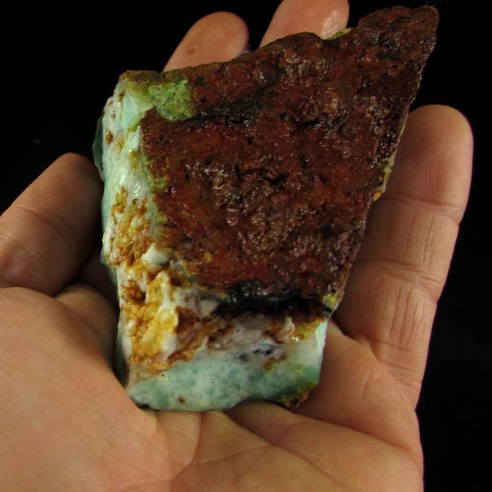 Crisoprásio Pedra Natural Bruta - 2905