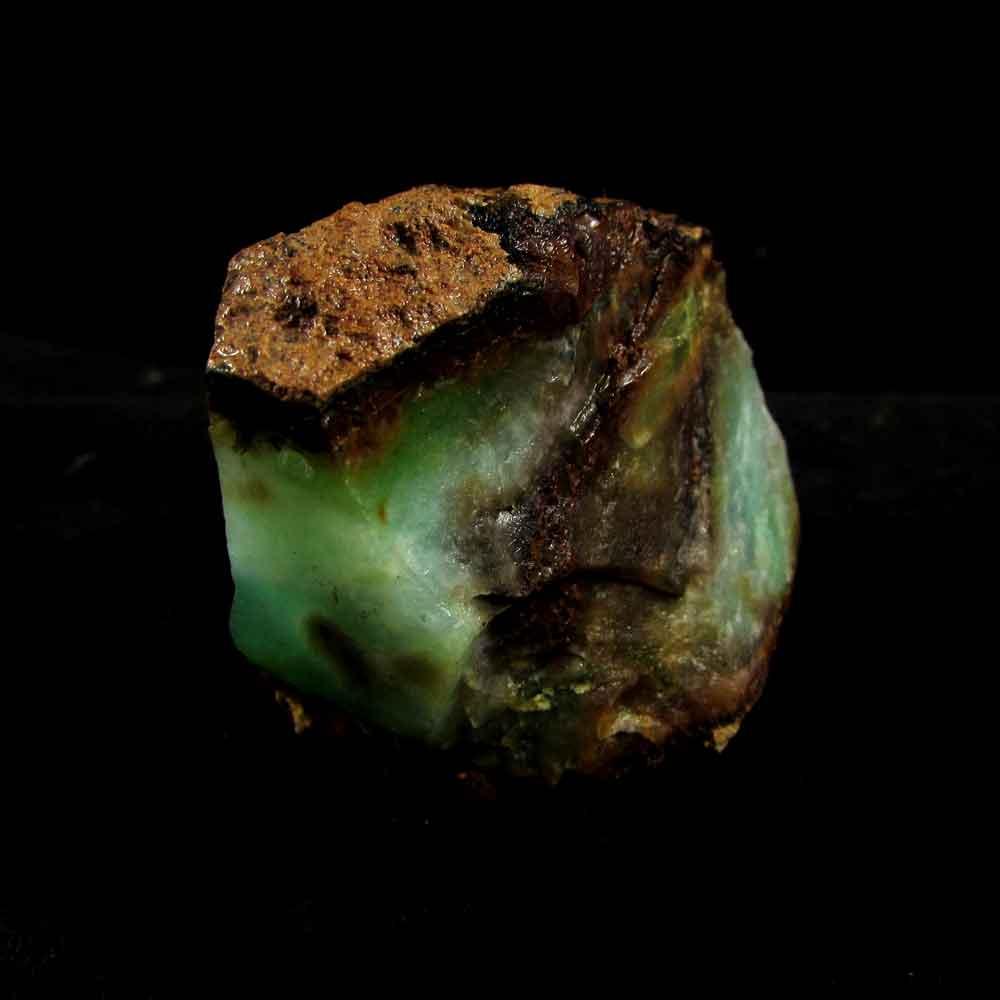 Crisoprásio Pedra Natural Bruta - 2907