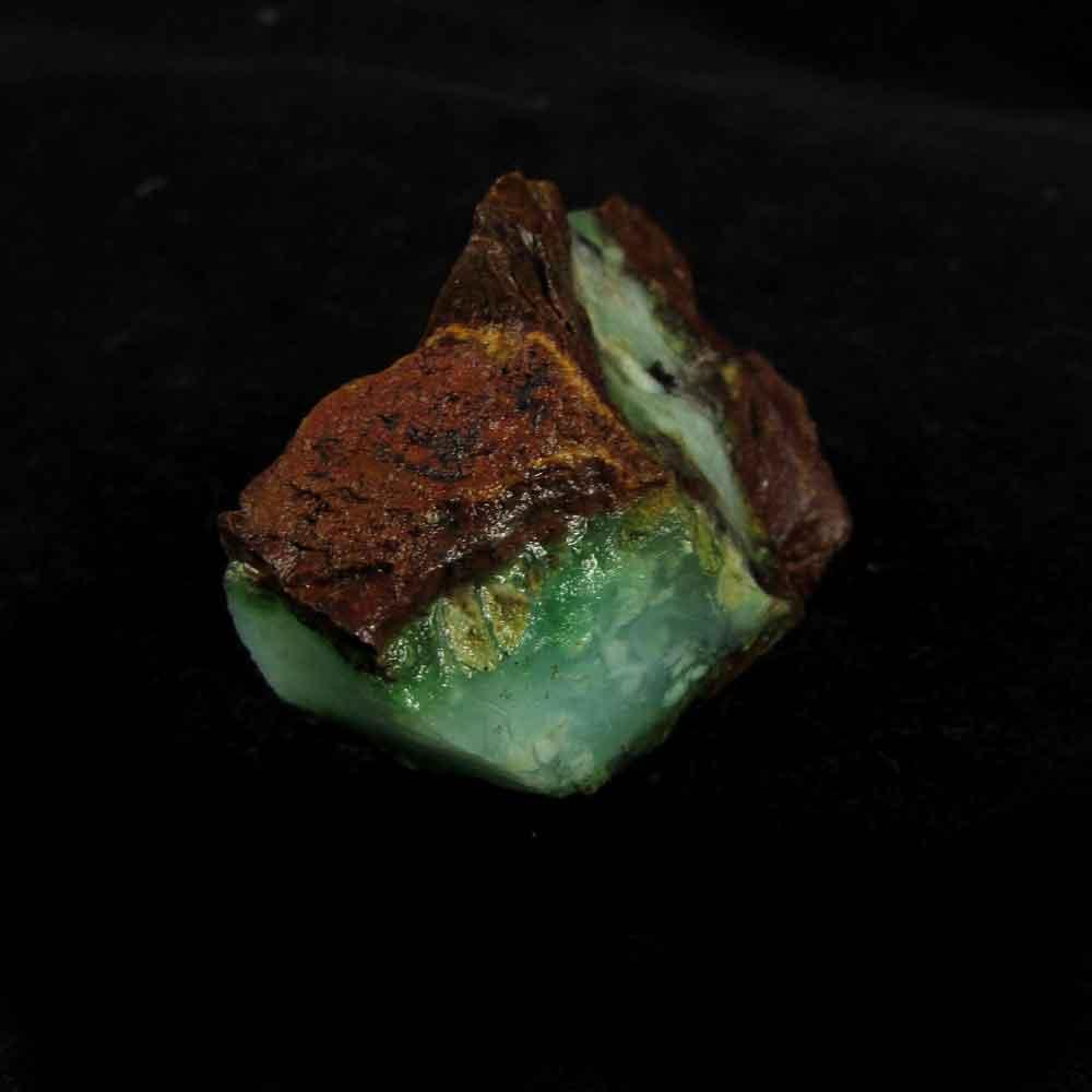 Crisoprásio Pedra Natural Bruta - 2911