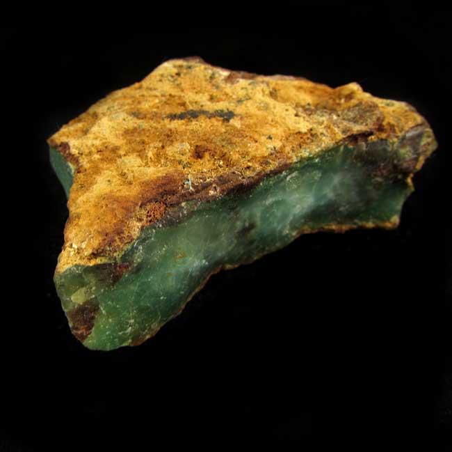 Crisoprásio Pedra Natural Bruta - 5833