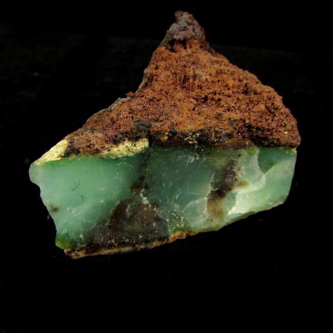 Crisoprásio Pedra Natural Bruta - 5835