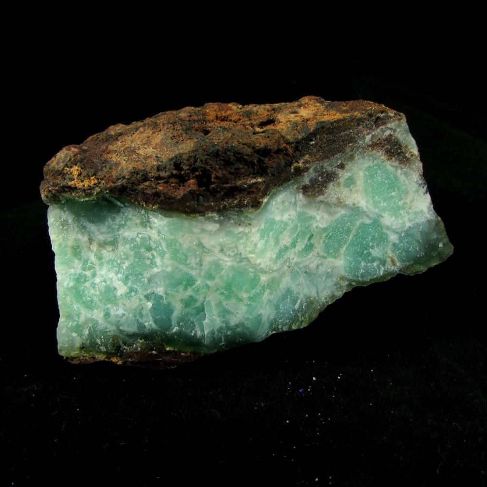 Crisoprásio Pedra Natural Bruta - Frete Grátis - 4885
