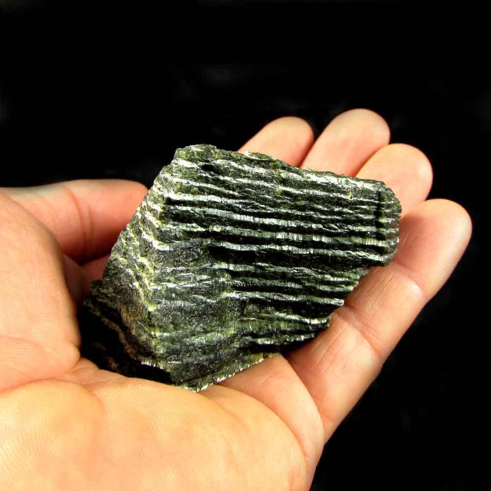 Crisotila Pedra Natural Bruta